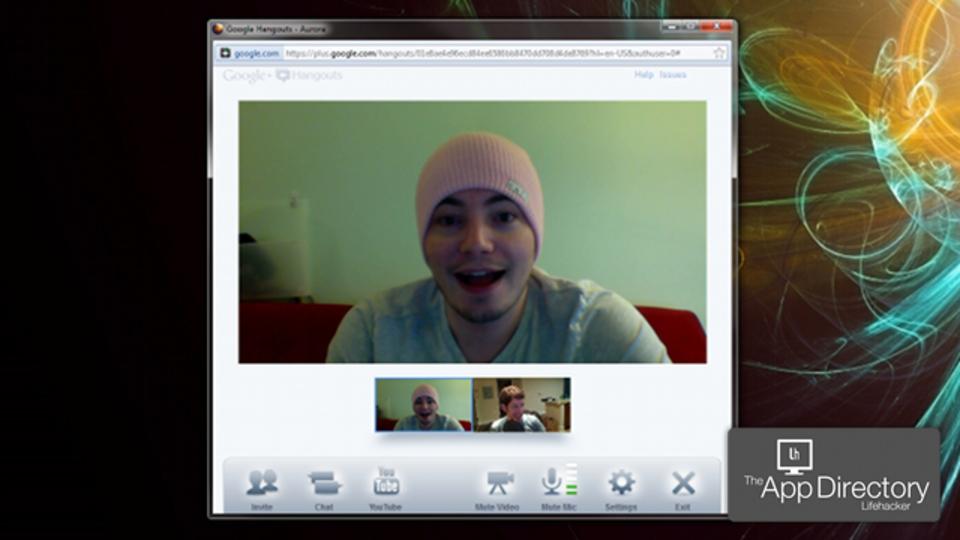 米Lifehaker編集部イチオシのWindowsビデオチャットアプリは「Google+ Hangouts」