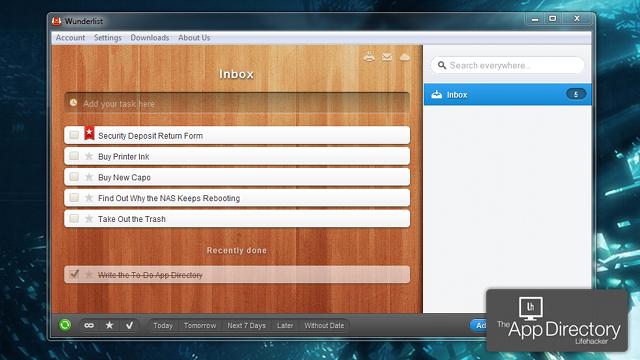 米LHが選ぶベストなWindows向けToDoアプリは『Wunderlist』で決まり!