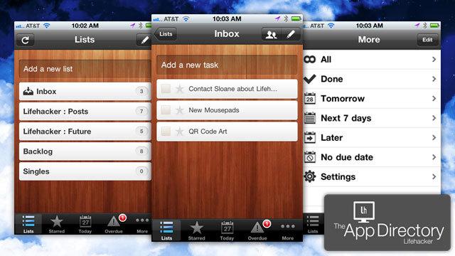 米Lifehacker編集部のiPhoneのイチオシToDoアプリは『Wunderlist』