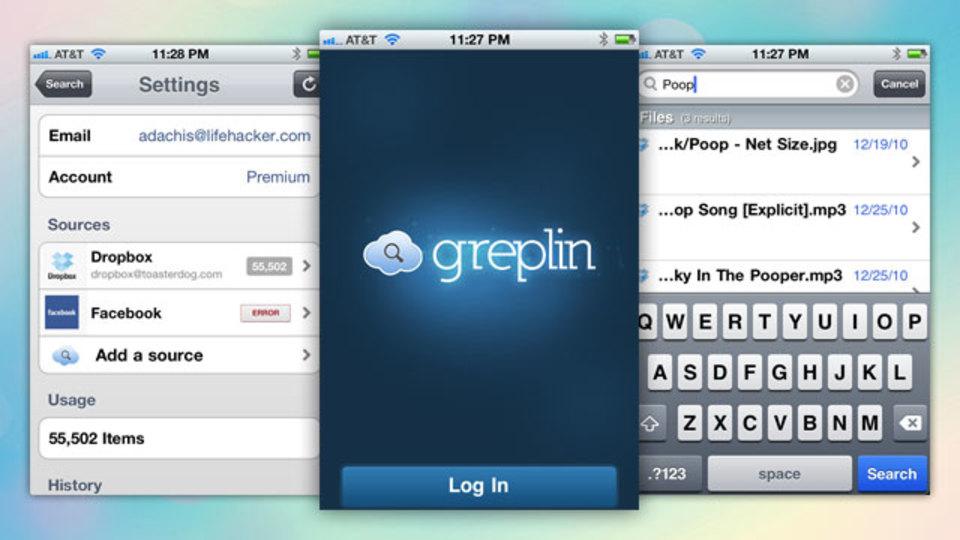 クラウドのあらゆる自分のデータから検索できる『Greplin』のiPhoneアプリがリリース