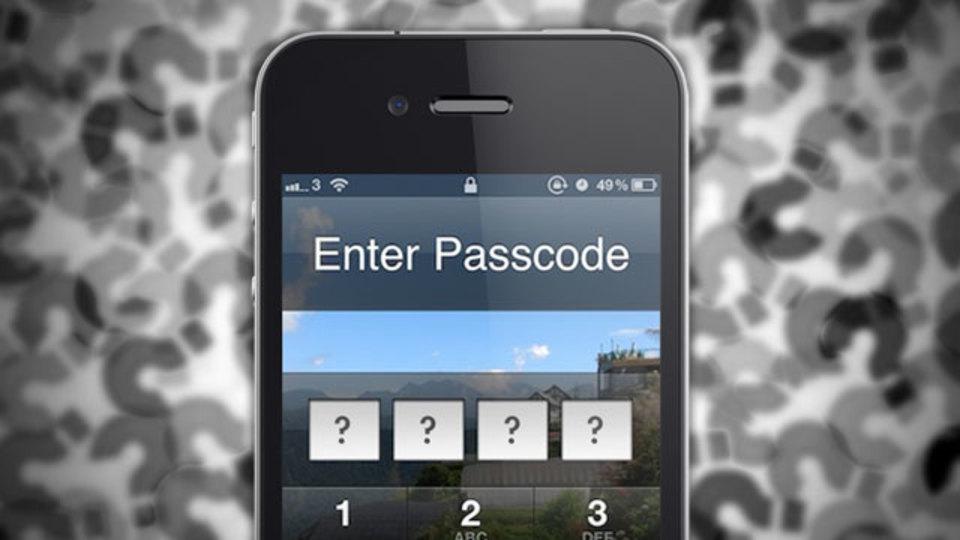iPhoneのパスコードを忘れてしまった時に使える方法