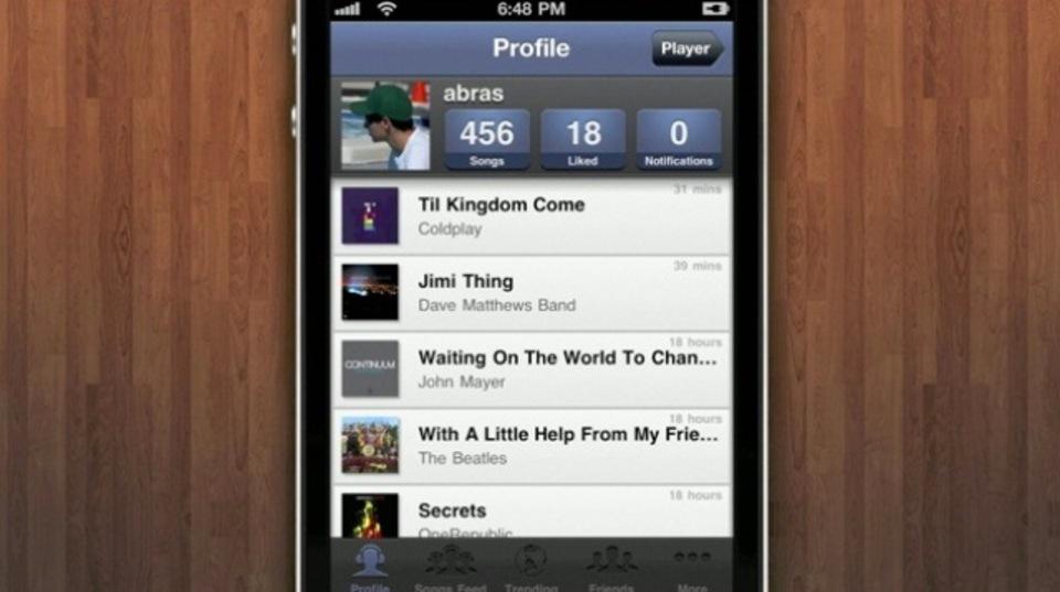 友達との音楽共有や新しいアーティストの発見に使えるiPhoneアプリ『SoundShare』