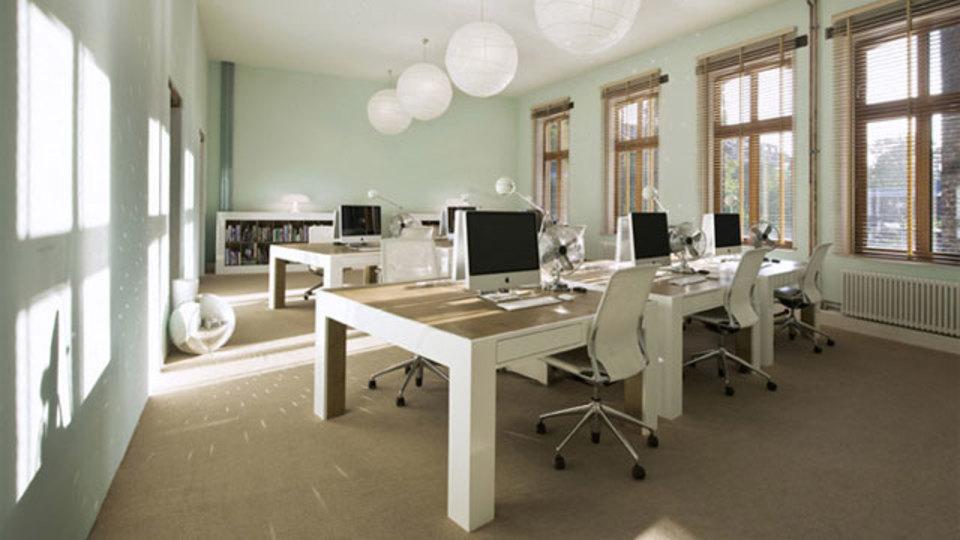 仕事場探訪:Parasol Island社のオフィス内風景