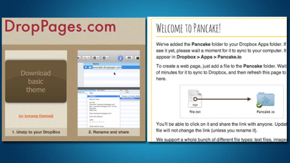 Dropboxでサイト更新! Dropbox内でウェブページをホスティングする方法