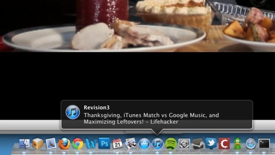 iTunesで現在再生中の曲情報をドックからポップアップ表示させる方法!