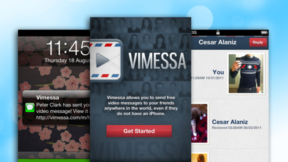 iPhoneで撮影したHD動画を「画質を低下させることなく」共有できる無料アプリ『Vimessa』