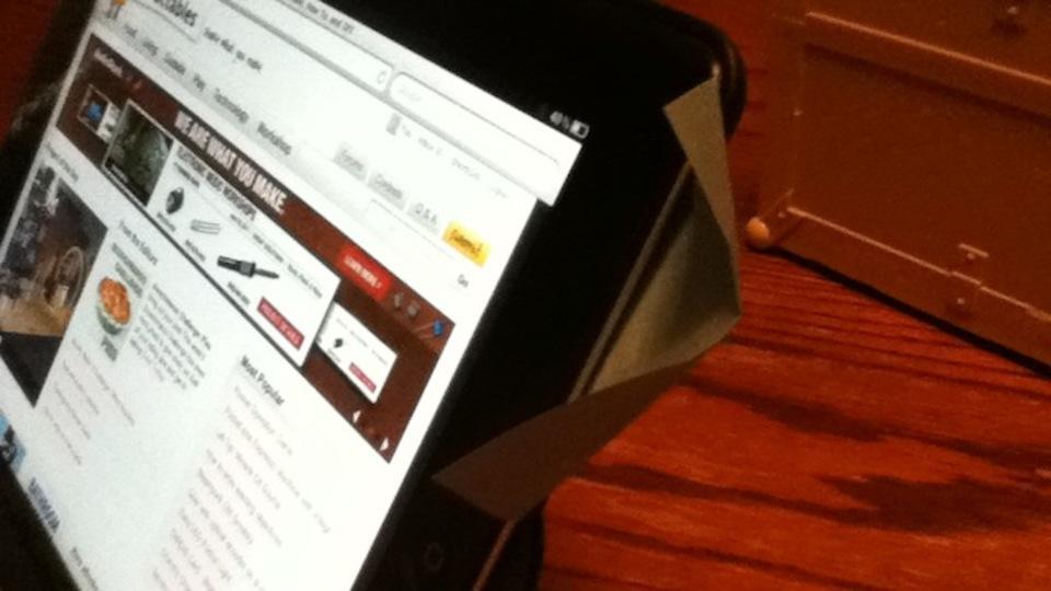 iPadの音量不足は「ポストイット」で解決できます!