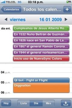 iPhoneのデフォルトの『カレンダー』で複数のGoogleカレンダーを同期する方法