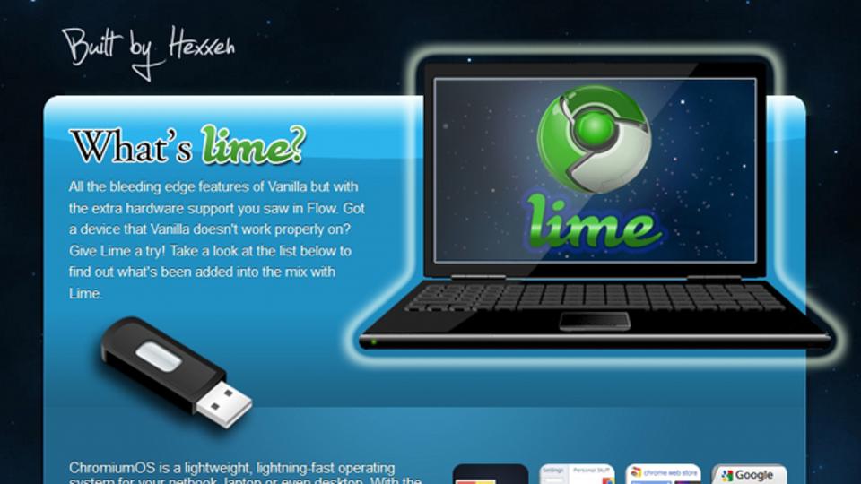 Chrome OSをノートパソコンで使いたいなら、まずは『Chromium Lime』をお試しあれ!