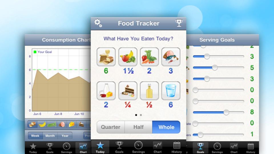 めんどうなカロリー計算なしで食生活を記録してくれるiOS用アプリ『FoodTrackerPro』