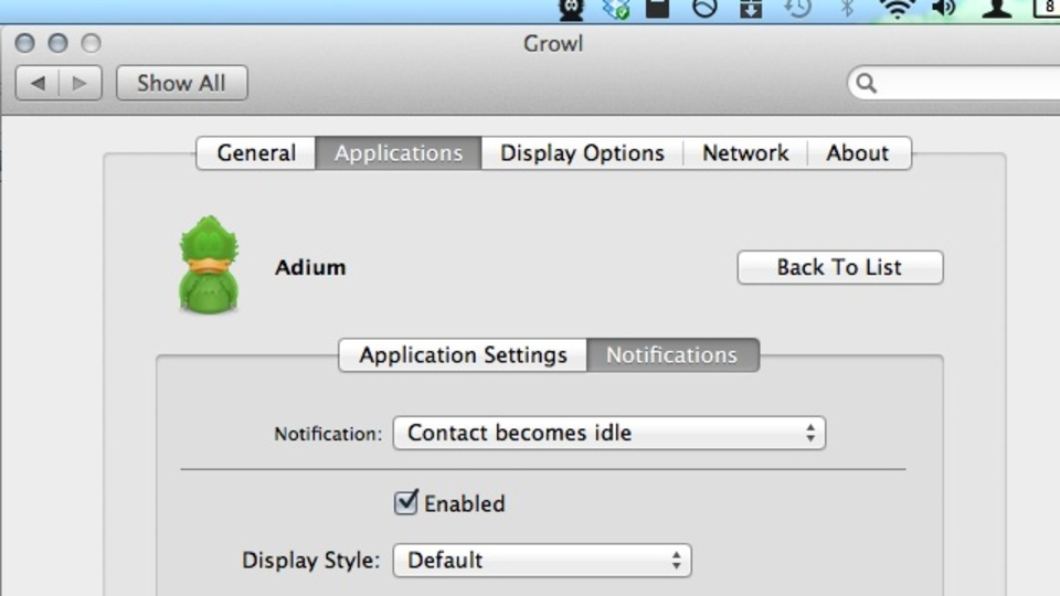 OS X Lionで『Growl 2.0』に問題がある人は無料の『Growl Fork』を使おう