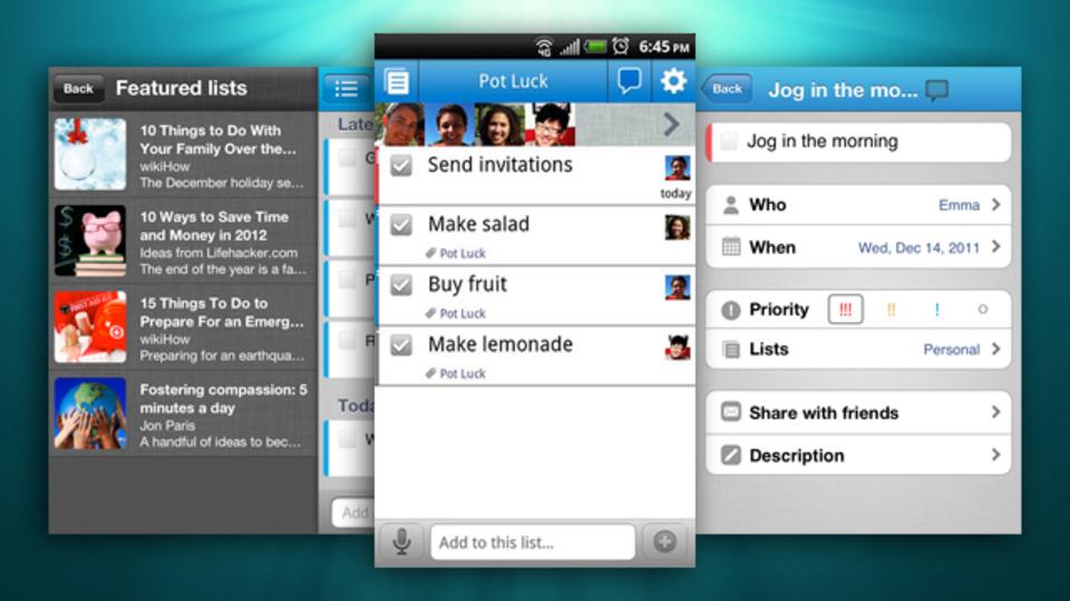 To-Do管理ツール『Astrid』のiOS版とAndroid版が一新! 新機能も搭載