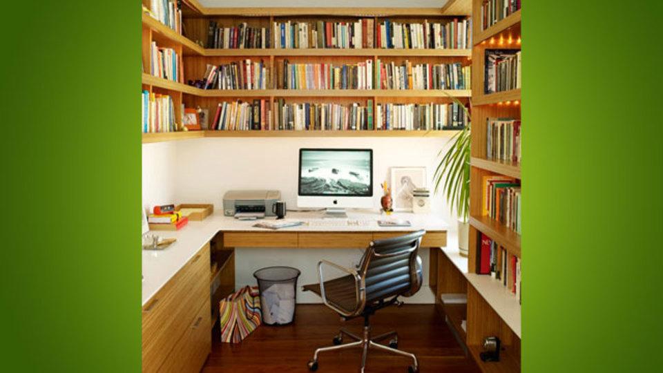 仕事場探訪:オフィスをミニ図書館化しましょう