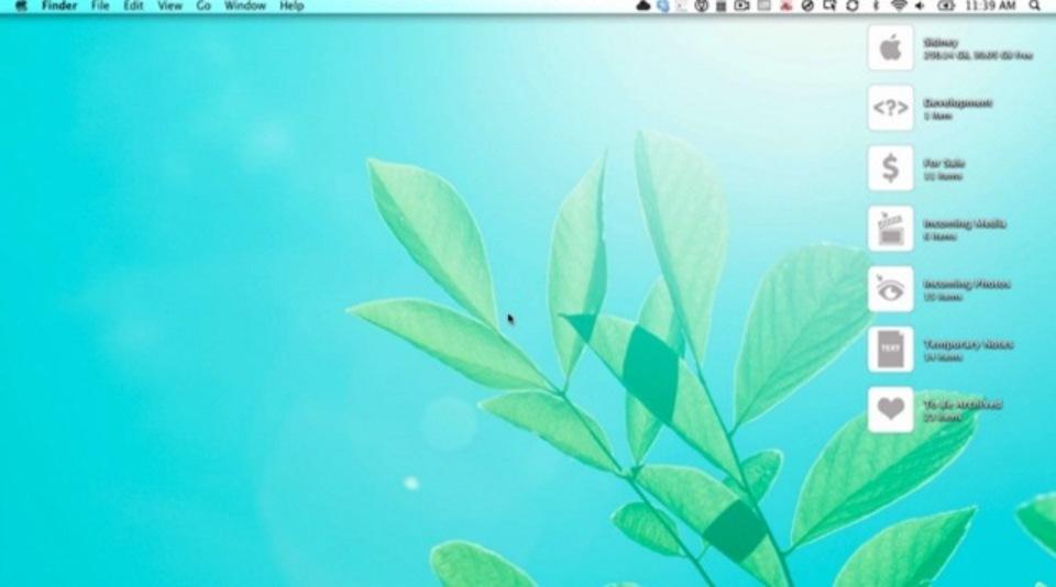 デスクトップを整理して生産性を上げましょう