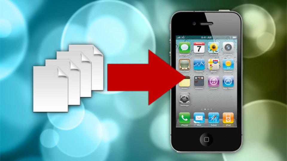 iTunesを使わずにiPhoneやiPadにファイルを同期する速くてシンプルな方法