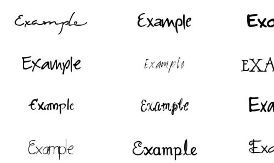 サイン 作り方 漢字