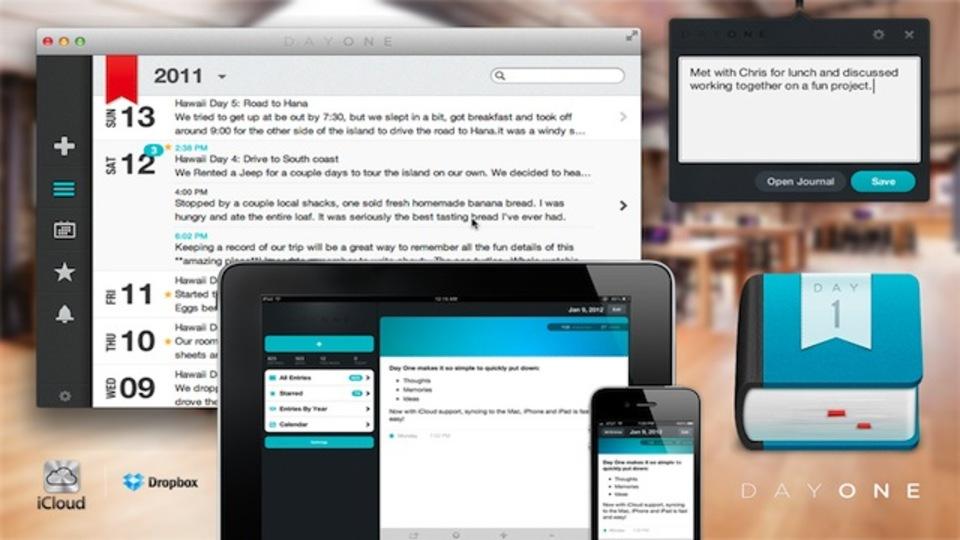 ジャーナルを書くという習慣付けをサポートしてくれるMac&iOS用ライティングツール『Day One』