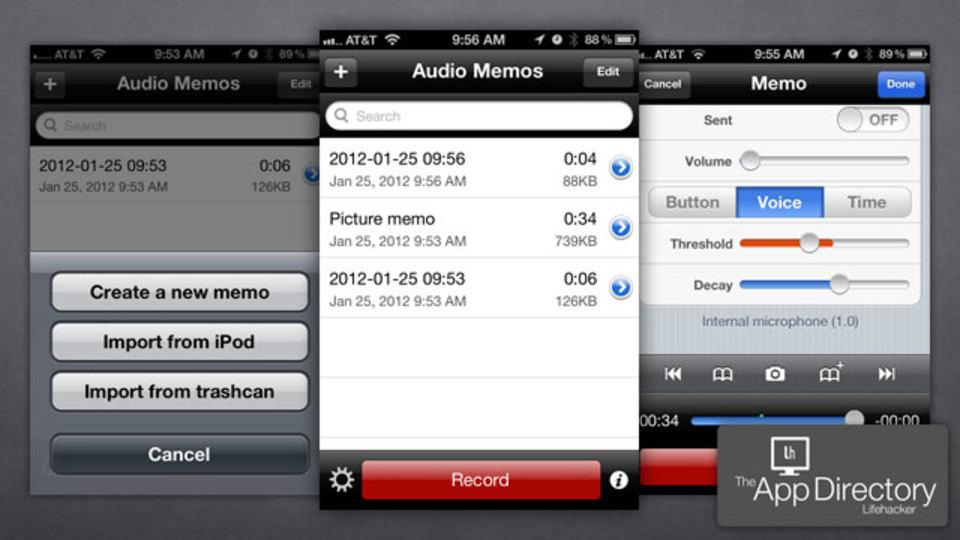 ボイスメモでは物足りない人に、米LH編集部イチオシのiPhoneのボイレコアプリ『Audio Memos』