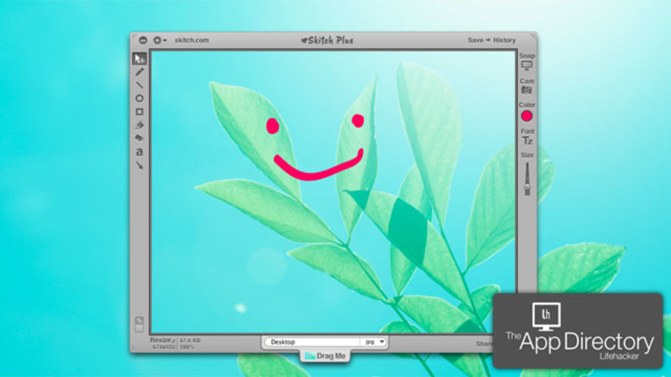 Mac OS Xでビルトイン以外のスクリーンショットアプリを使うなら『Skitch』