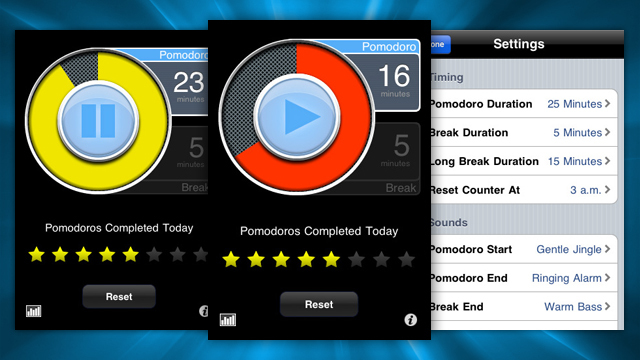 iPhone用『PomodoroPro』で生産性とモチベーションをアップ