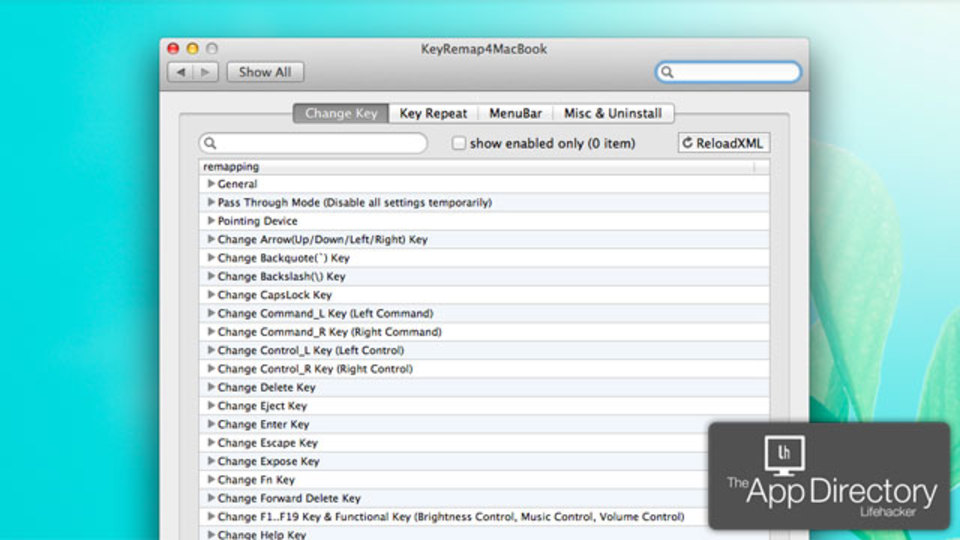Macのキー配列変更ソフトなら『KeyRemap4Macbook』がオススメ