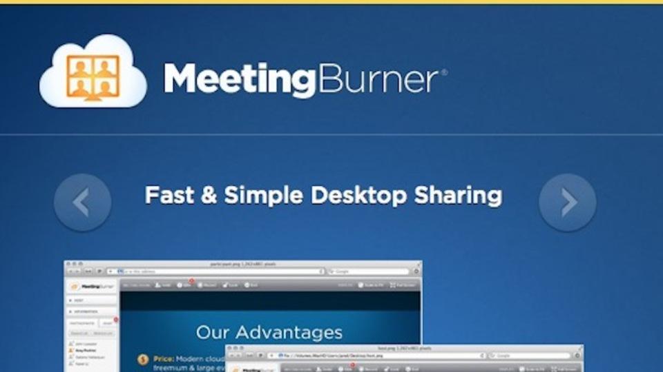 無料で使えてダウンロードも不要のビデオカンファレンスツール「MeetingBurner」