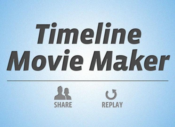 Facebookの自分のタイムラインを動画で遡れる「Timeline Movie Maker」