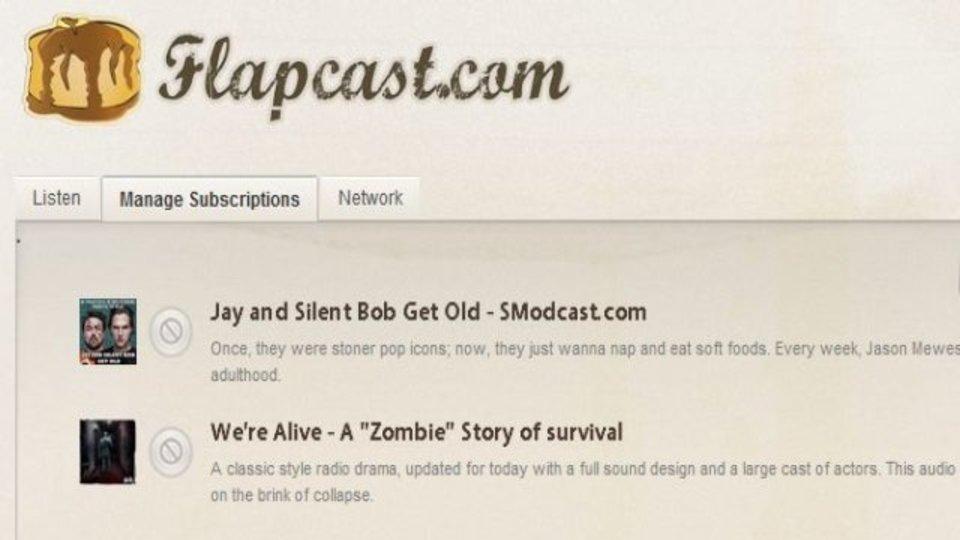 ポッドキャストをブラウザ内で整理&ストリームできる「Flapcast」