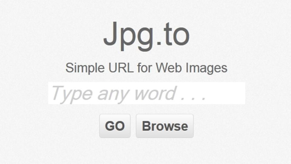 キーワードを入れるとそれにピッタリの画像を1枚だけ表示する「jpg.to」