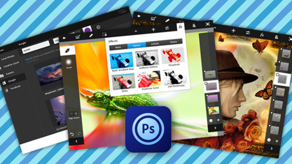 iPad史上最も実用的!? iPadに最適化された『Adobe Photoshop Touch』