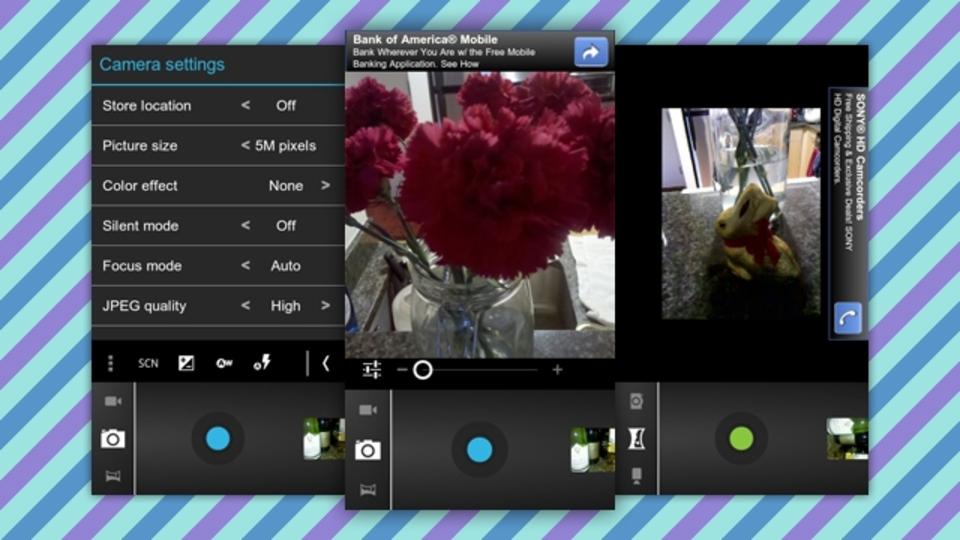 『Ice Cream Sandwich』のCameraアプリがAndroidで使えます