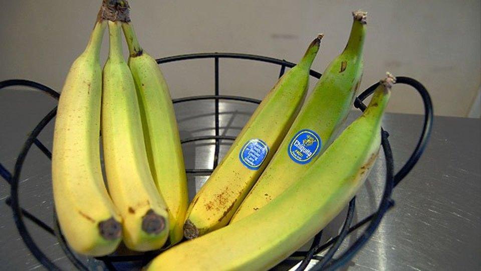 バナナを長持ちさせたい時は房からバラしておくといい