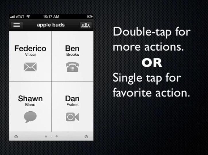 iPhoneの連絡先の長いリストをスクロールするのに疲れたあなたに『Buzz Contacts』