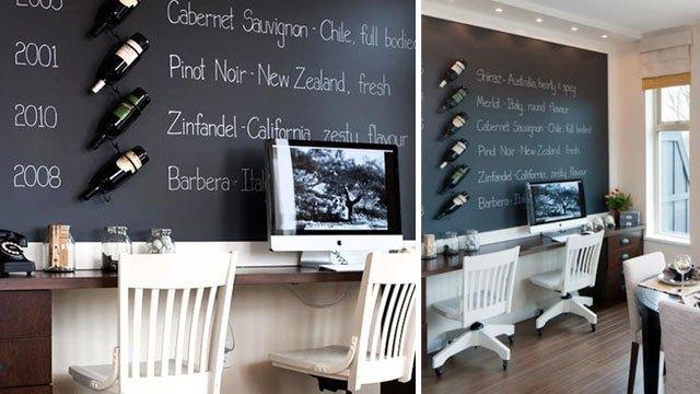 仕事場探訪:どこか懐かしい雰囲気と現在とが入り交じる「ワイン愛好家の仕事部屋」