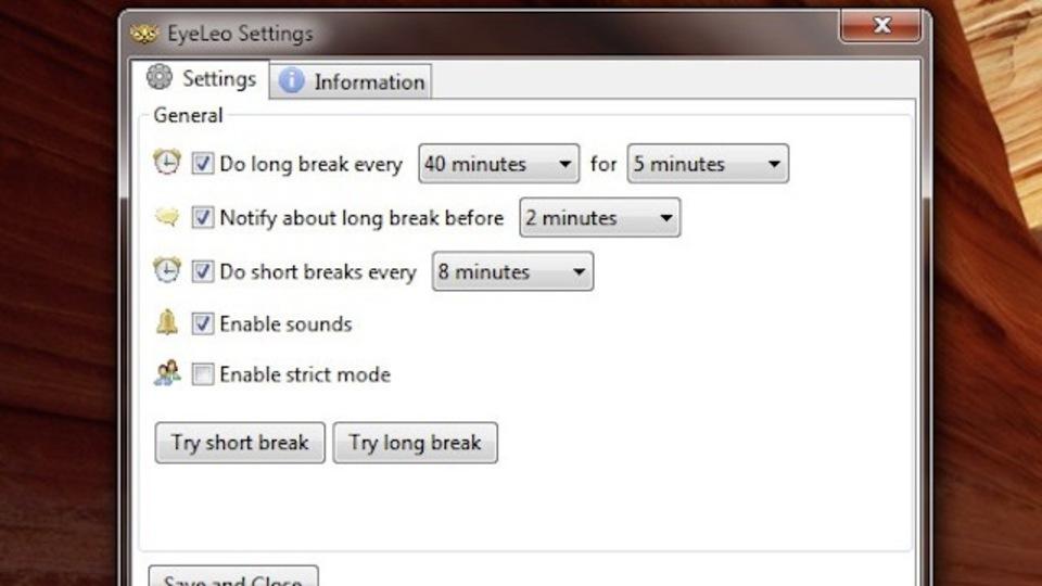 ノーモア疲れ目! 定期的な休憩を促すWindowsアプリ『EyeLeo』