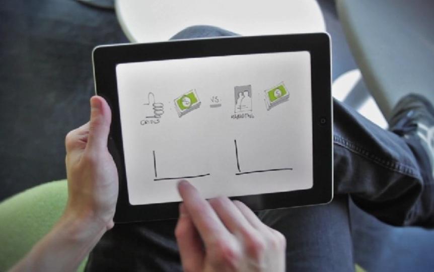 お絵描きやメモに最適なiPadアプリ『Paper』
