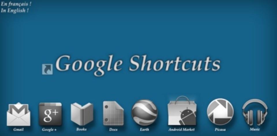[Android]あらゆるGoogleサービスへ一発で飛べるショートカット集 #TABROID