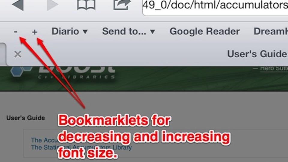 【修正版】文字の大きさを調整できる! iPhoneやiPadで表示されるサイトのテキストサイズを変更する方法
