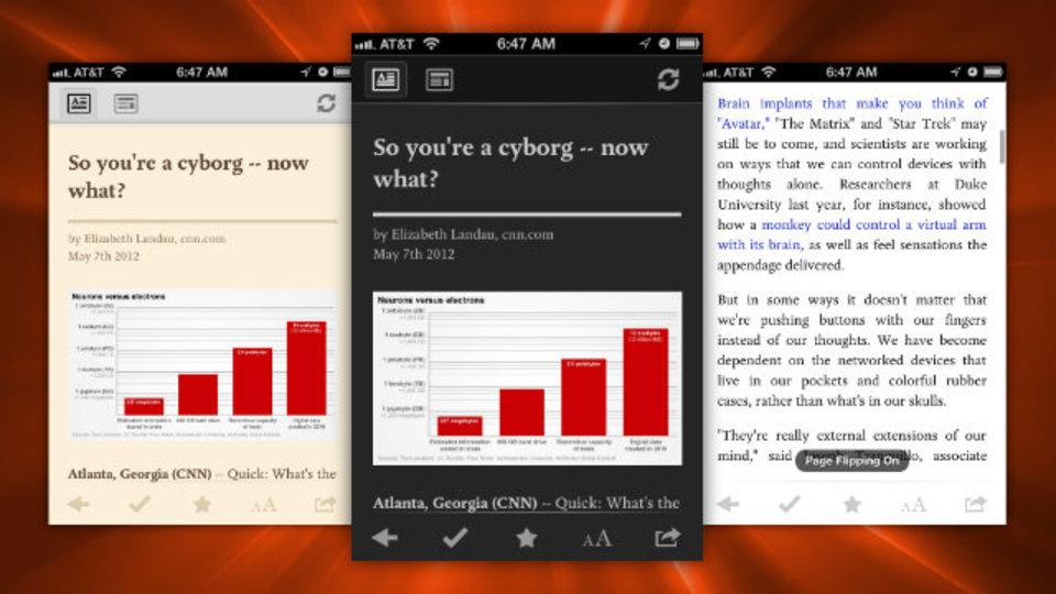 『Pocket』(旧・Read It Later)がアップデート!スワイプによるページめくり、動画サポートの拡大などなど