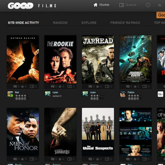 映画のレビューを元に、見たい作品を探し出せるサービス「Goodfilms」