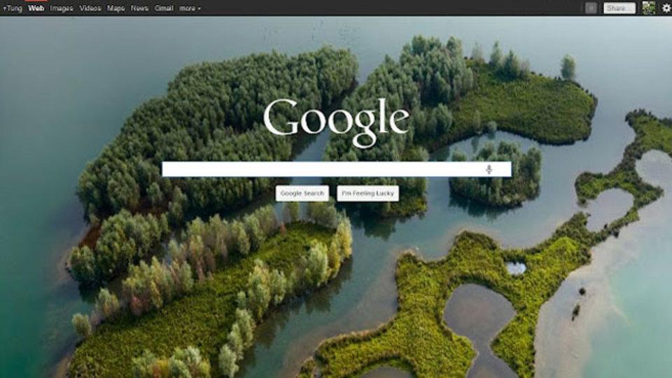 Googleの背景を「Bingの壁紙」に自動設定できるChrome拡張機能