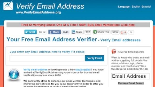 アドレス間違いで送れない...? そんな時にメアドのチェックができるサイト