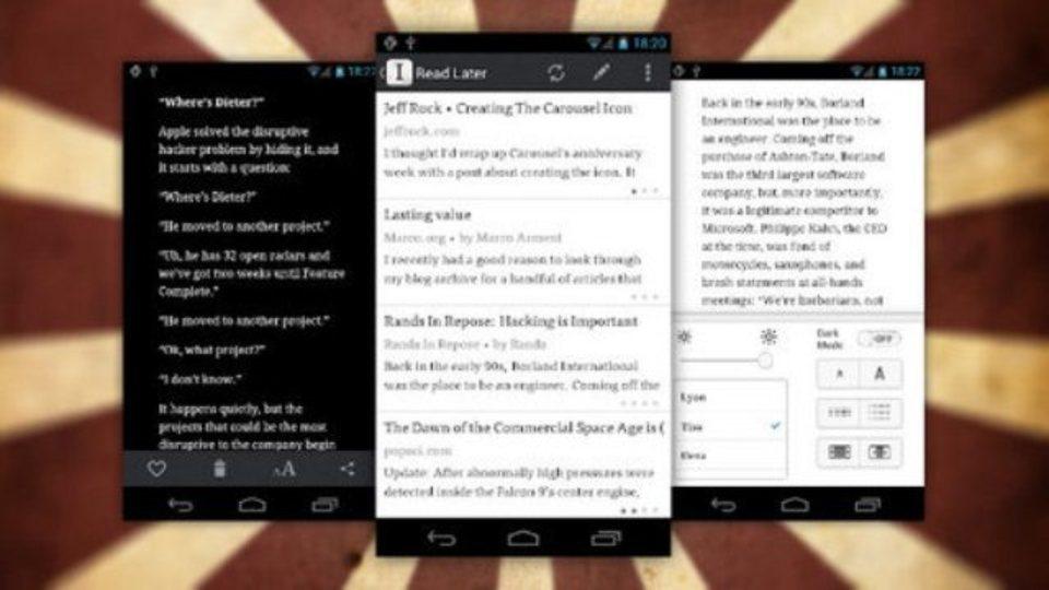 遂に登場! 「Instapaper」のAndroid公式アプリが公開中