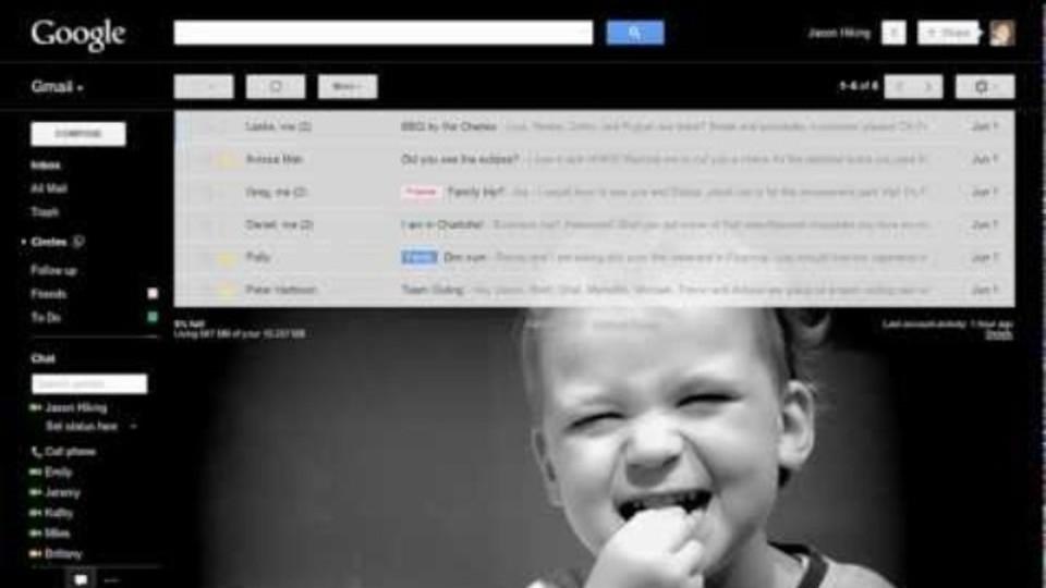 Gmailのテーマのカスタマイズが可能に! 好きな画像をテーマに設定できます