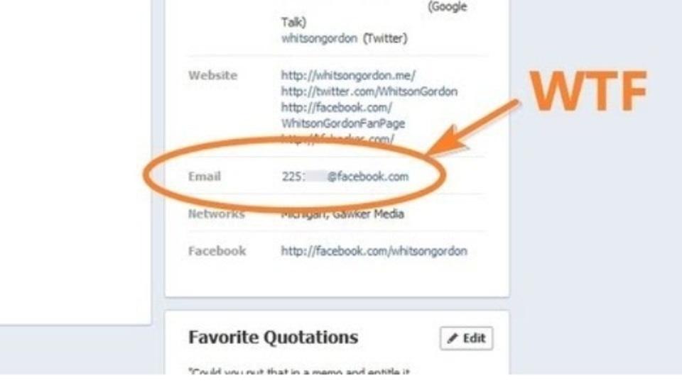 「@facebook.com」のアドレスがFacebookプロフィールに表示されるようになった件