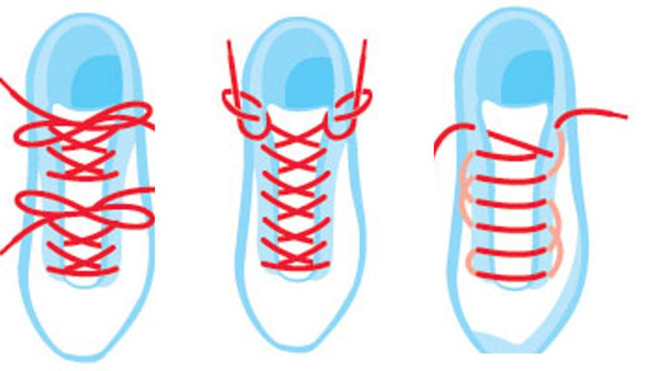足のトラブルを解消してくれる4つのクツひもの結び方