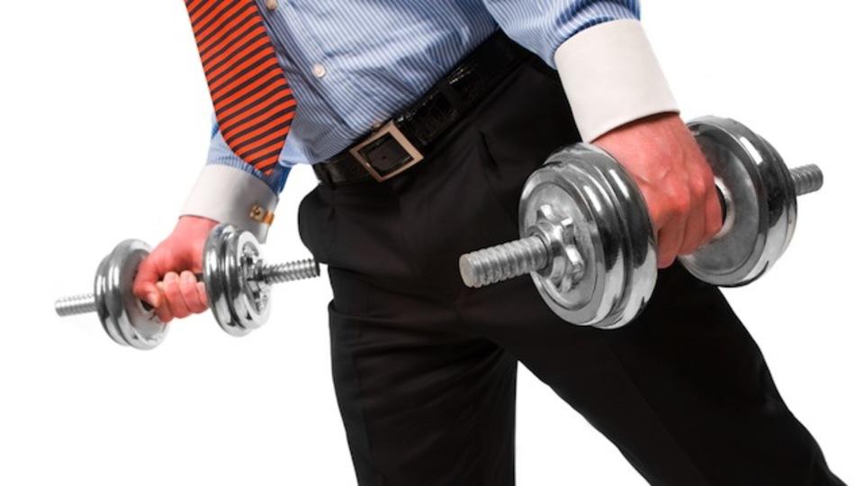 日常的にエクササイズをしている社員は平均で9%高い収入を得ているという研究結果
