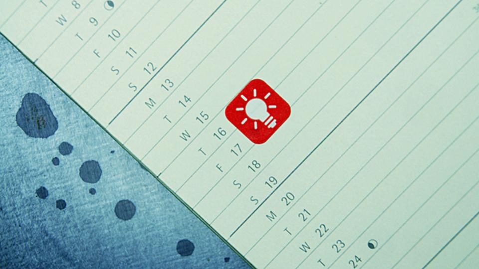 目標を絶対達成するために自分の一週間を固める「努力週表」づくりを!