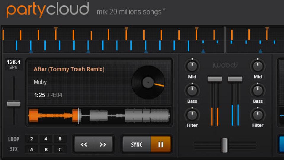 ホームパーティやイベントのBGMにも使える高機能DJサービス「PartyCloud」