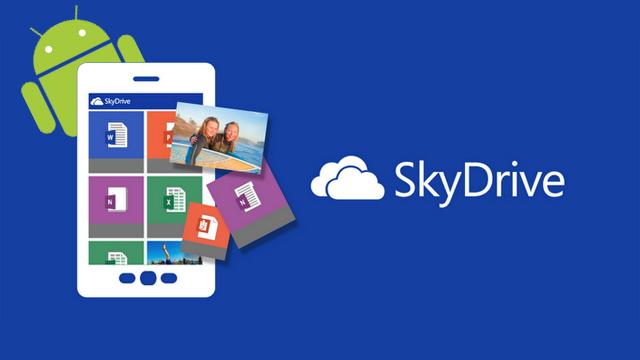 SkyDrive公式アプリ、ついにAndroidで登場! 使い勝手がいい感じです